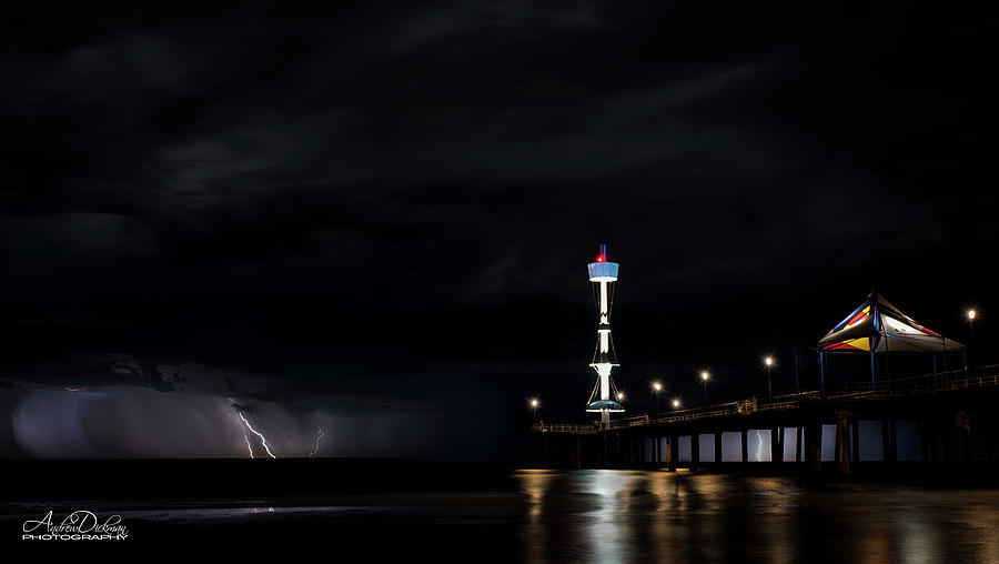 Jetty Lightning by Andrew Dickman