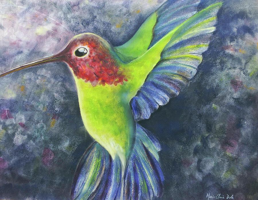 Hummingbird Pastel - Jewel Bird by Marie-Claire Dole