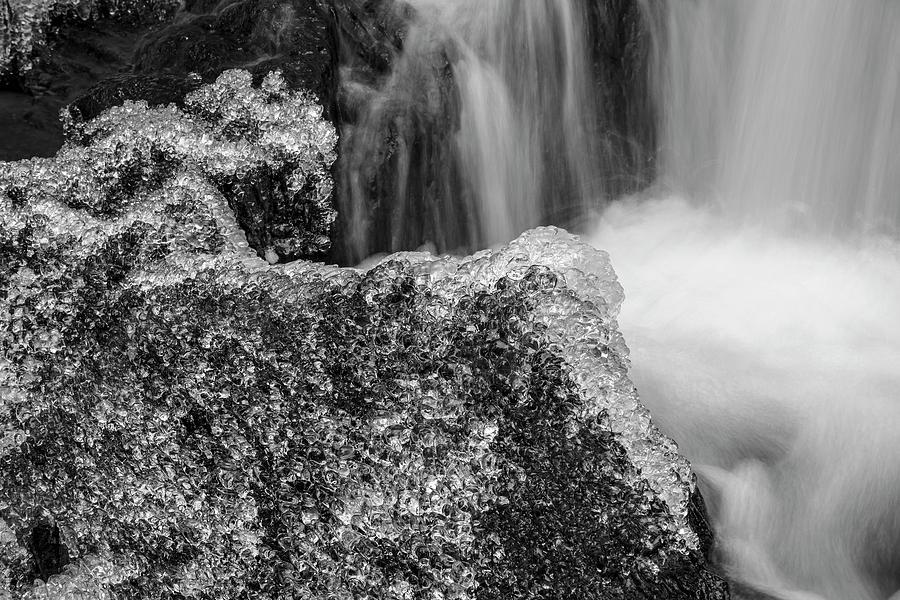 Jeweled Rocks and Waterfall by Irwin Barrett