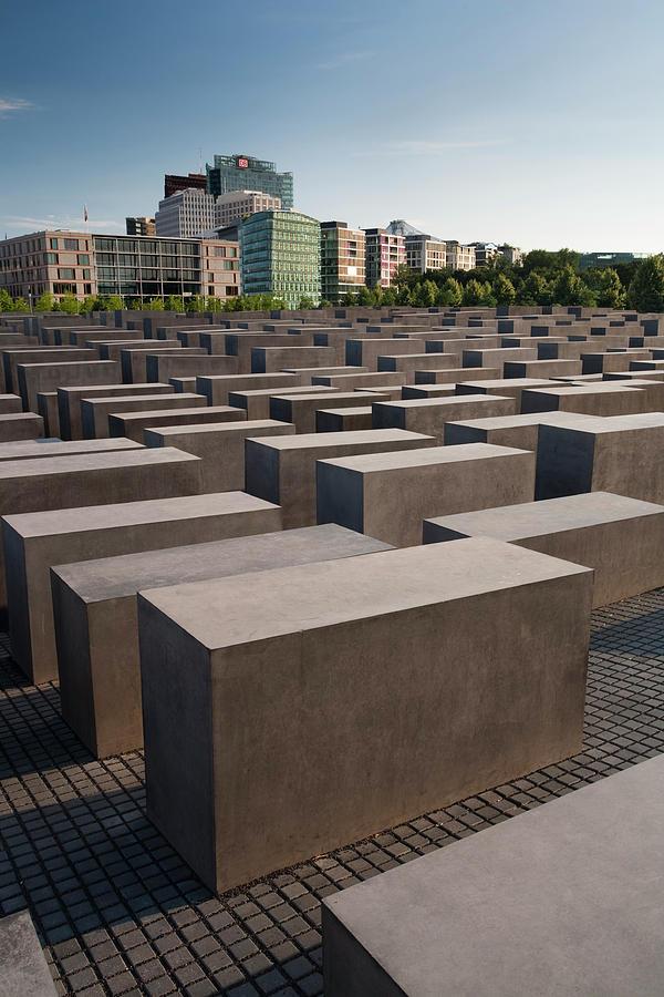 Jewish Memorial, Berlin, Germany Photograph by David Clapp