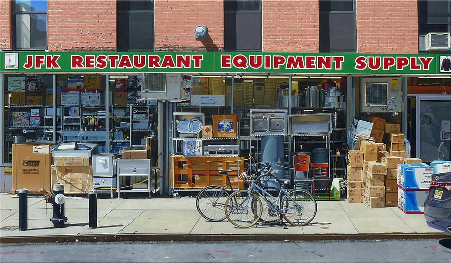 Jfk Restaurant Supply Painting