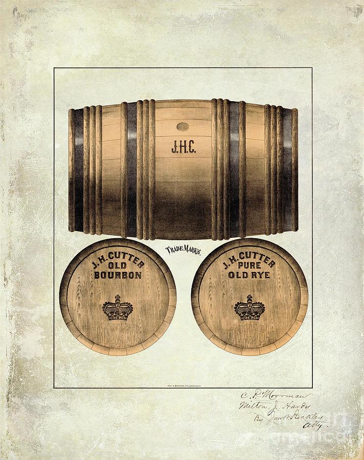 Woodford Reserve Photograph - J.h. Cutter Old Bourbon by Jon Neidert