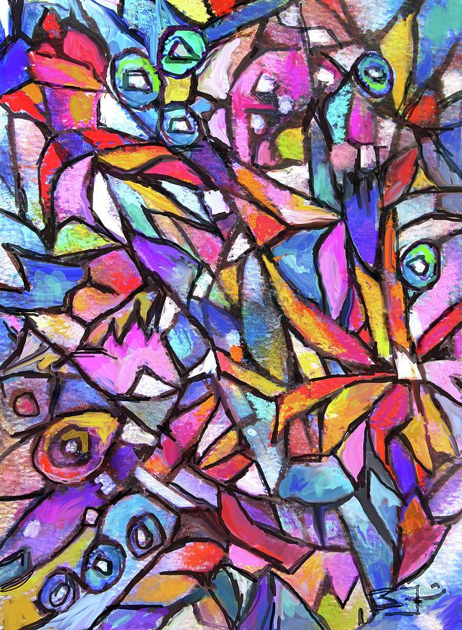 Jig Saw Garden by Jean Batzell Fitzgerald