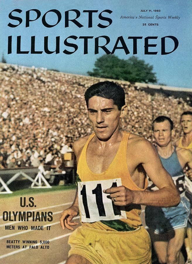 Jim Beatty, 1960 Us Olympic Trials Sports Illustrated Cover Photograph by Sports Illustrated