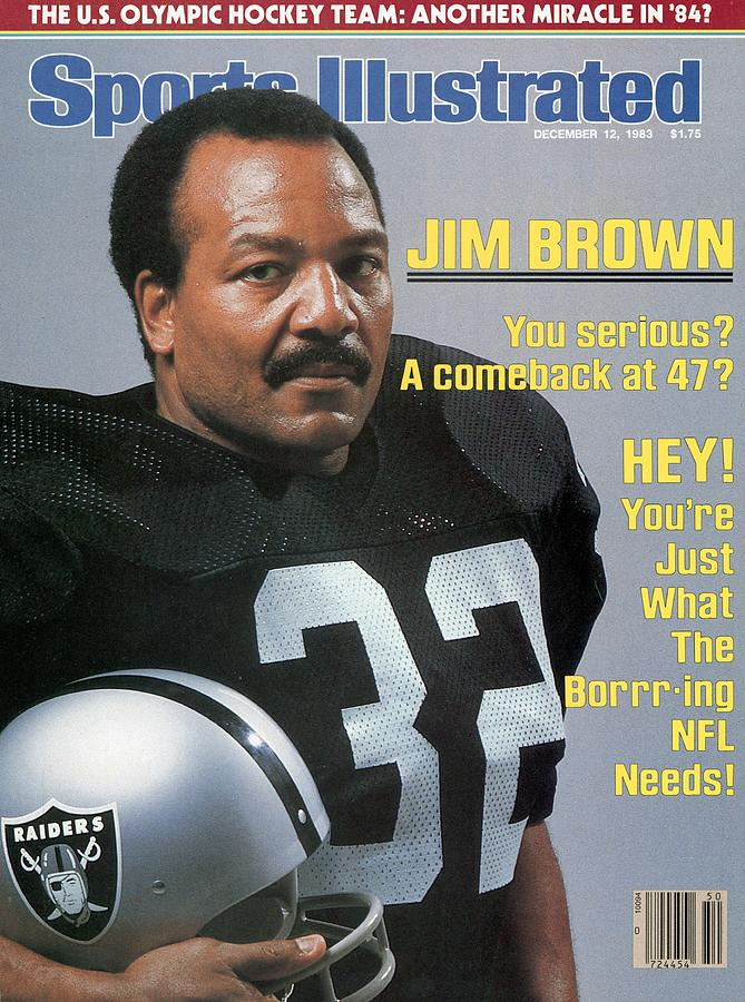 Jim Brown, Retired Football Player Sports Illustrated Cover Photograph by Sports Illustrated