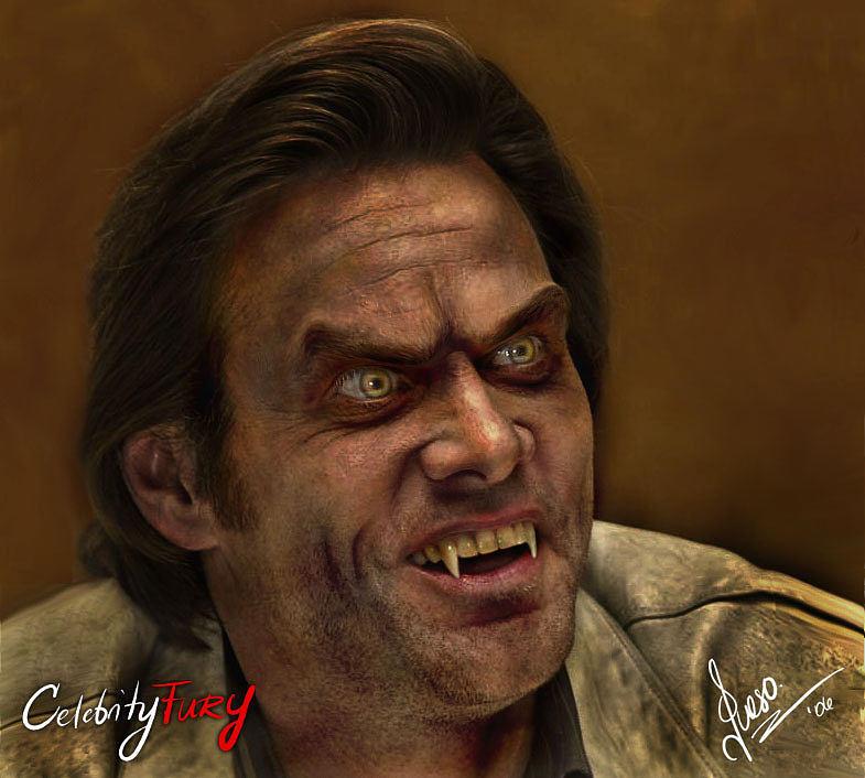 Jim Carrey Digital Art - Jim Carrey by Queso Espinosa