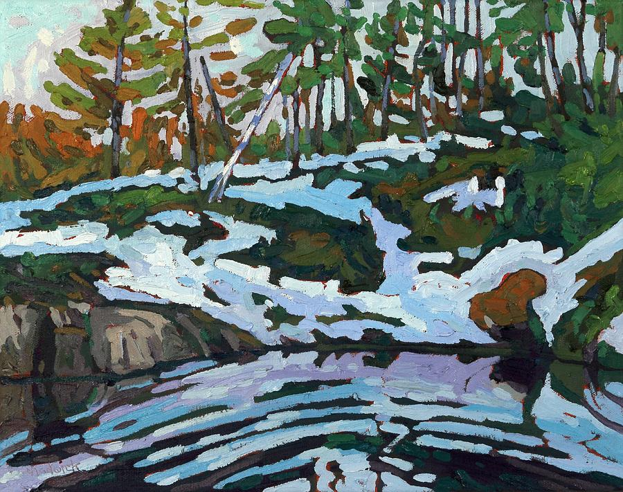 Jim Day Spring Reflections of Winter by Phil Chadwick