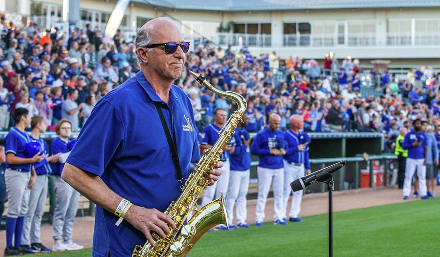 Jim Freda finishes the Anthem by Randy Jackson