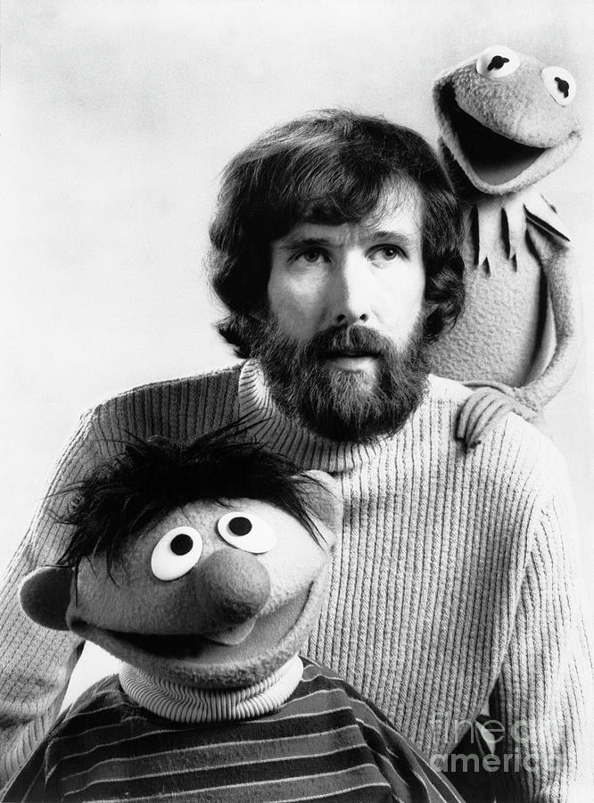 Jim Henson With Kermit The Frog Photograph by Bettmann