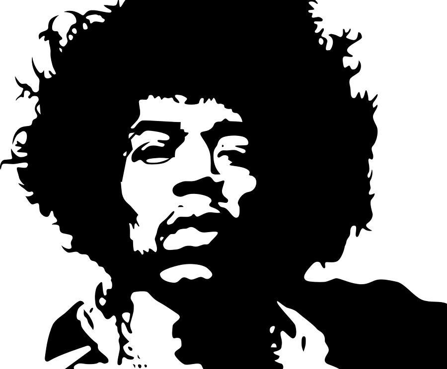 Jimi Digital Art - Jimi Hendrix by Ericamaxine Price