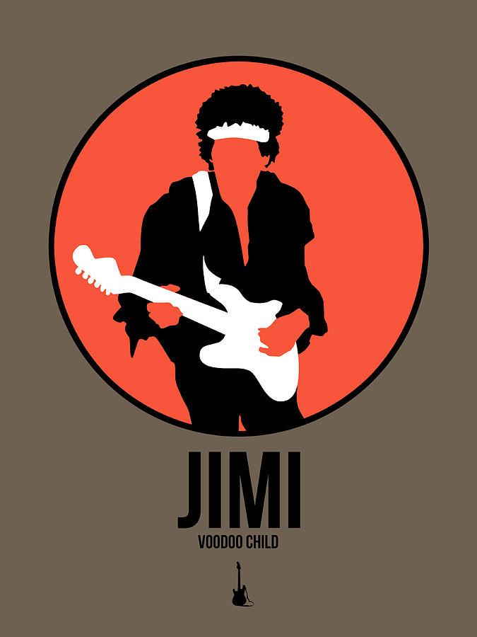 Jimi Hendrix Digital Art - Jimi Hendrix by Naxart Studio