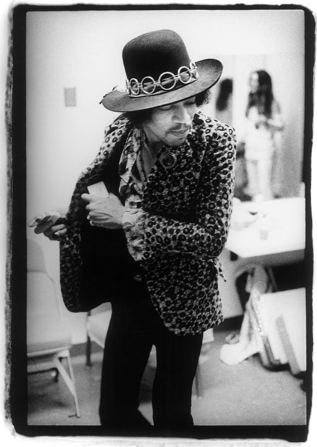Jimi Hendrix Plays Anaheim Photograph by Ed Caraeff/morgan Media
