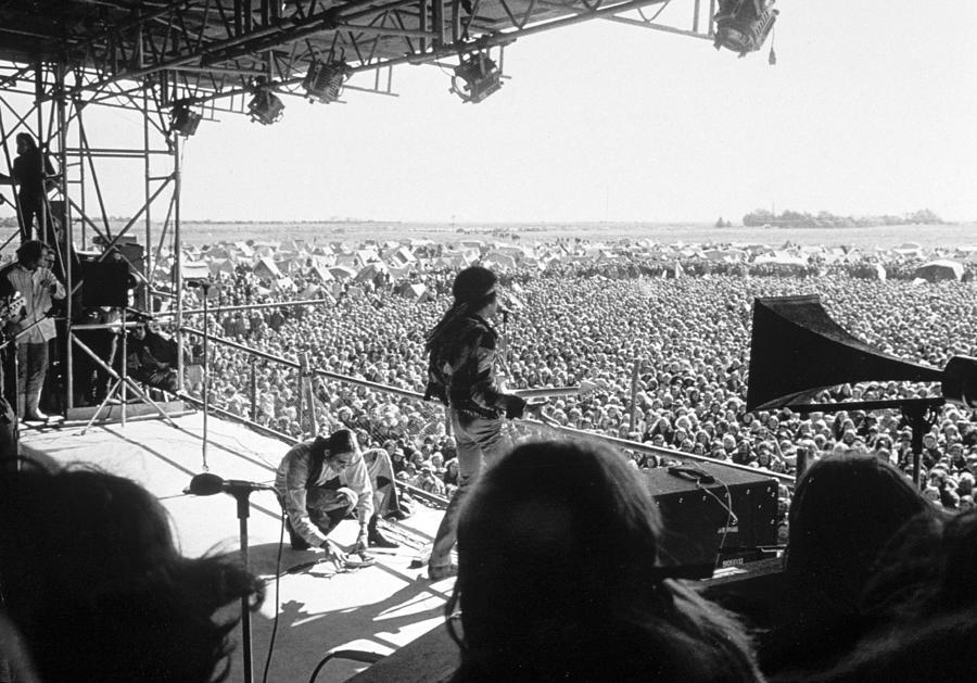 Jimi Hendrixs Last Concert Photograph by Michael Ochs Archives