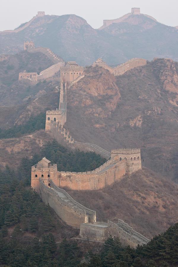 Jinshanling Section, Great Wall Of China Photograph by Thomas Kokta