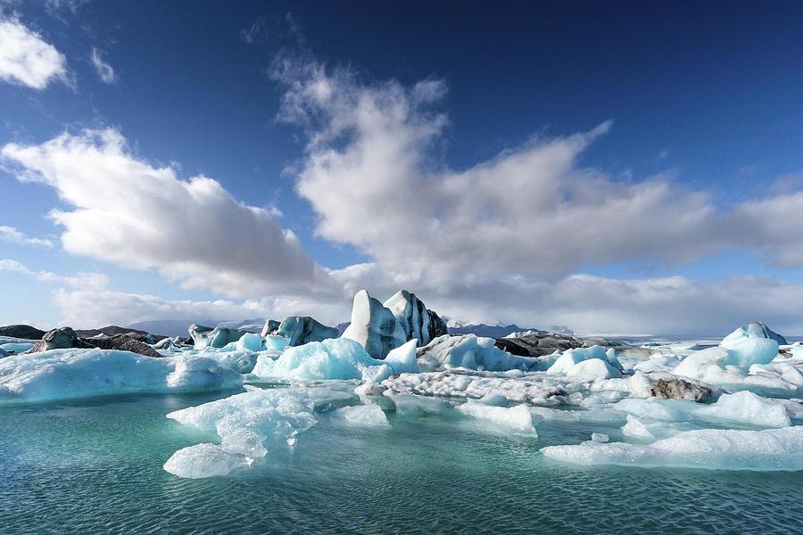 Jökulsárlón - Glacier River Lagoon Photograph by Daniele Carotenuto Photography