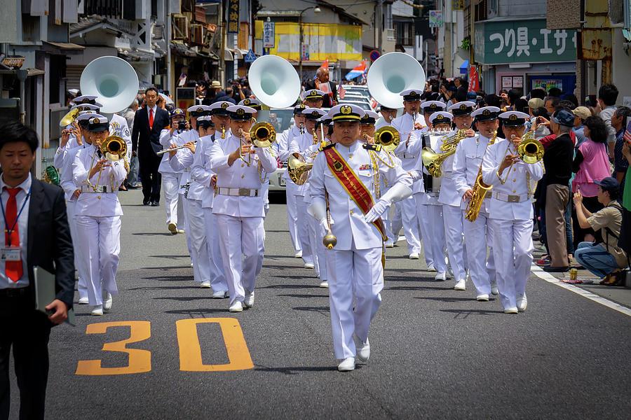 JMSDF Band by William Chizek