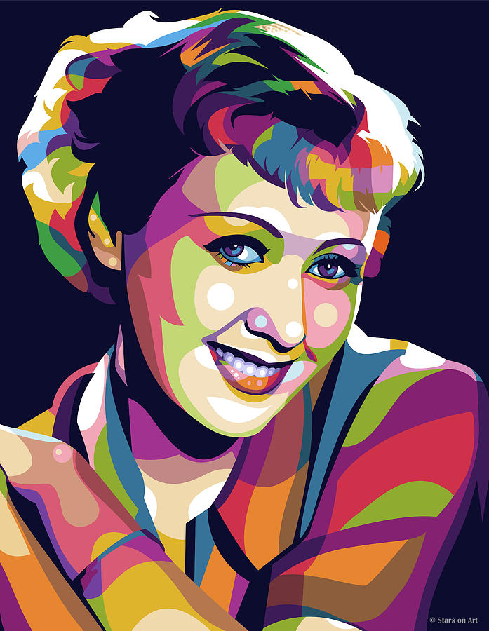 Joan Blondell Digital Art