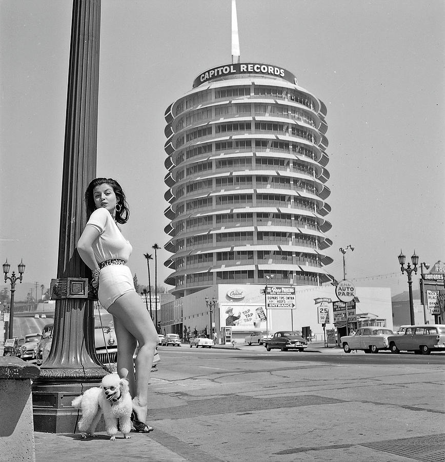 Joan Bradshaw In Hollywood Photograph by Michael Ochs Archives