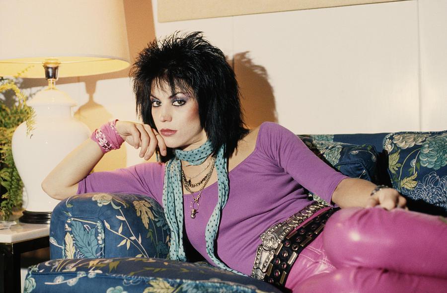 Joan Jett Photograph by Pete Cronin