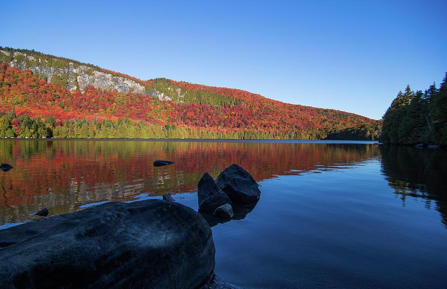 Jobs Pond Fall by Tim Kirchoff
