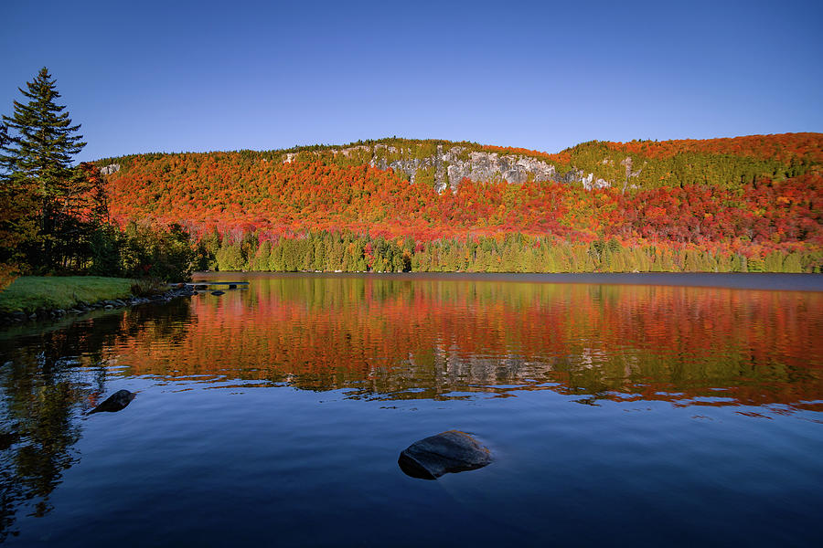 Jobs Pond Reflection by Tim Kirchoff
