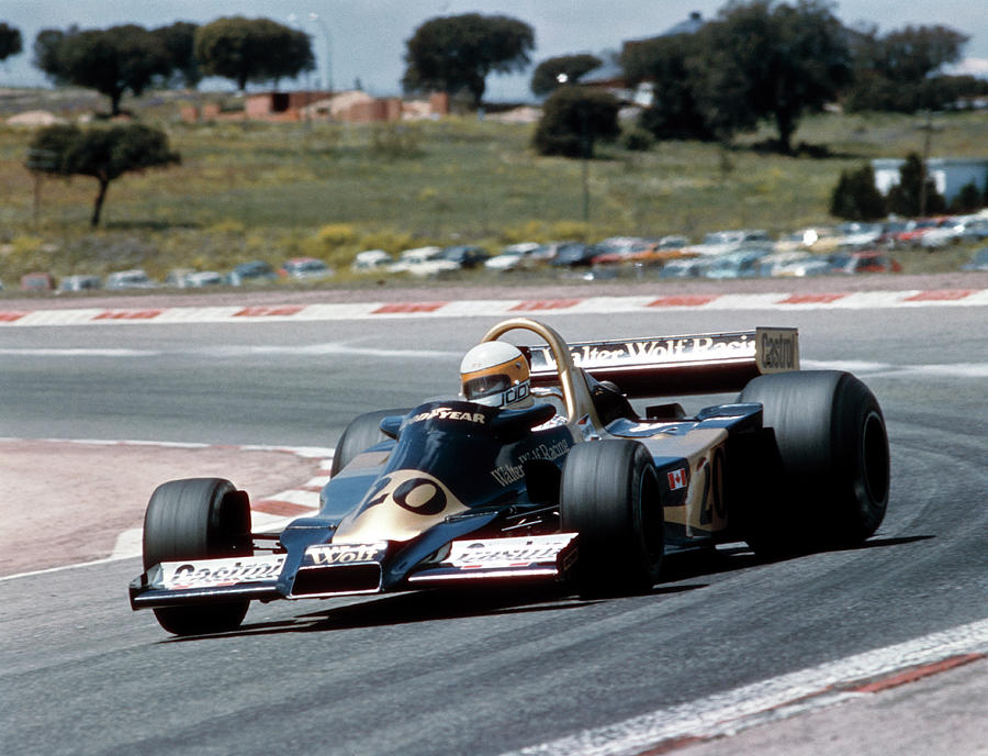 Jody Scheckter Racing A Wolf-cosworth Photograph by Heritage Images