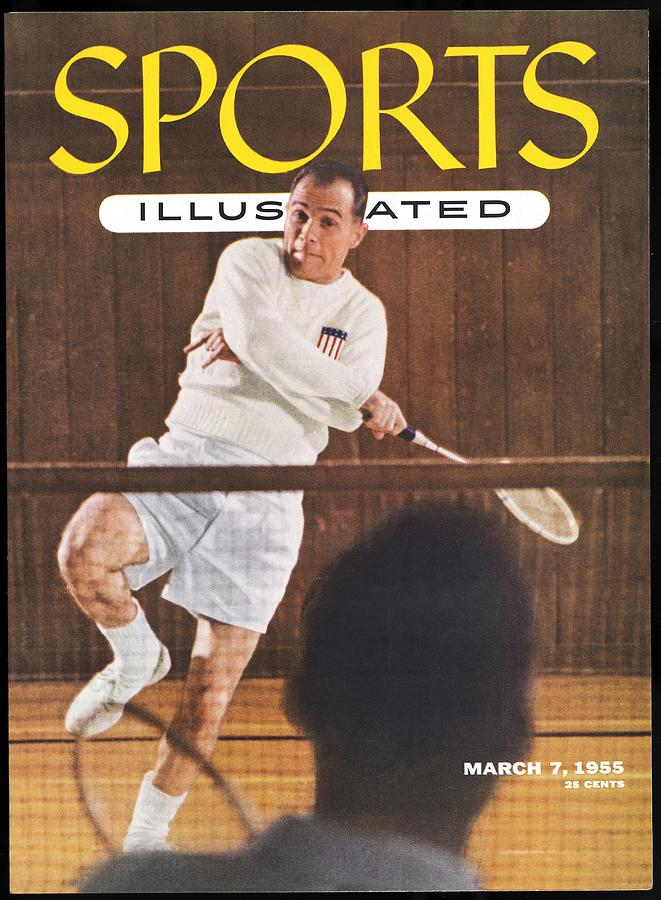 Joe Alston, Badminton Sports Illustrated Cover Photograph by Sports Illustrated