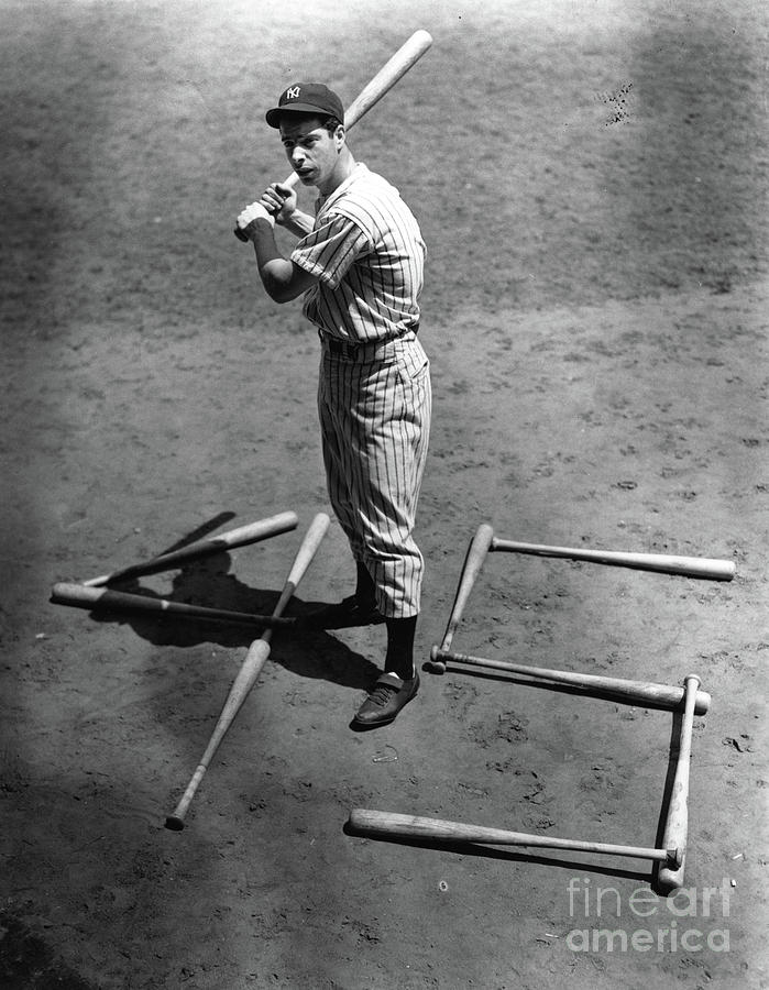 Joe Dimaggio 45 Home Runs 1937 Photograph by Transcendental Graphics