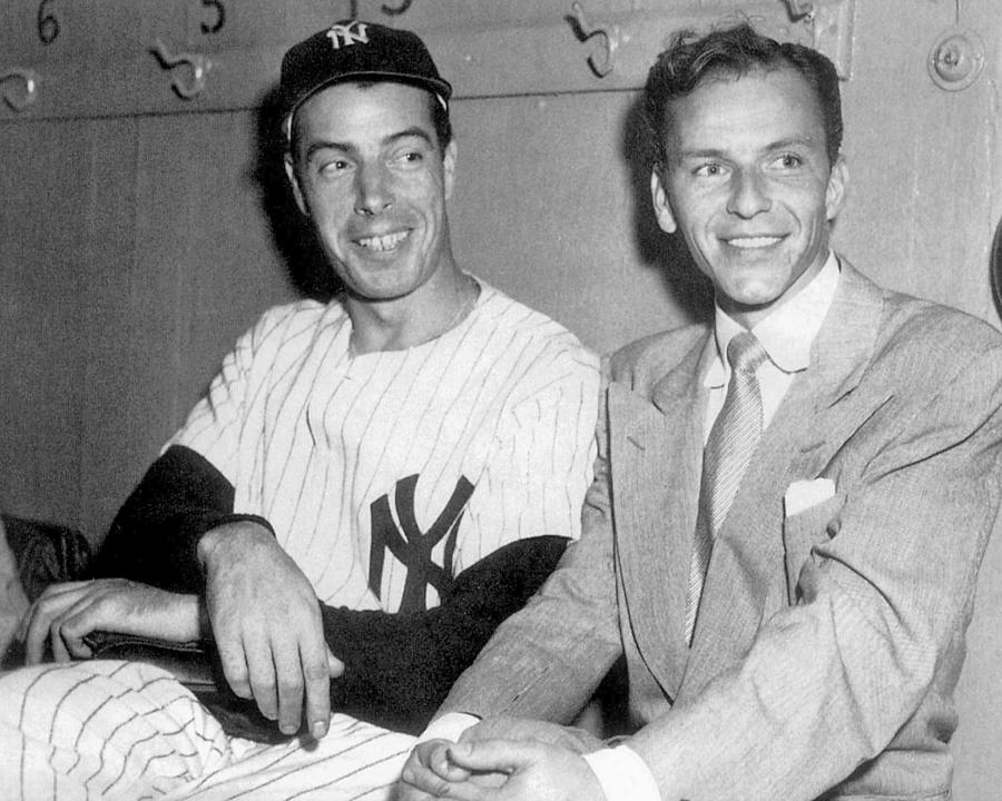 Joe Dimaggio And Frank Sinatra At Photograph by New York Daily News Archive