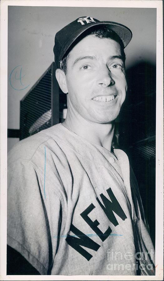 Joe Dimaggio Photograph by Sports Studio Photos