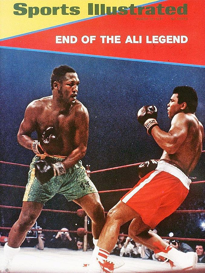 Joe Frazier, 1971 Wbcwba Heavyweight Title Sports Illustrated Cover Photograph by Sports Illustrated