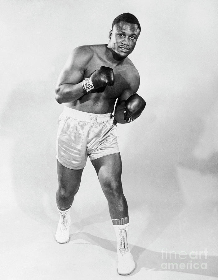 Joe Frazier Posing In Boxing Stance Photograph by Bettmann