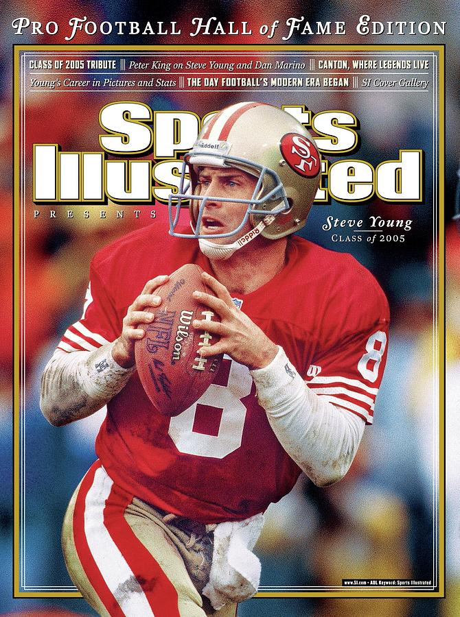 Joe Montana Hall Of Fame Class Of 2005 Sports Illustrated Cover Photograph by Sports Illustrated
