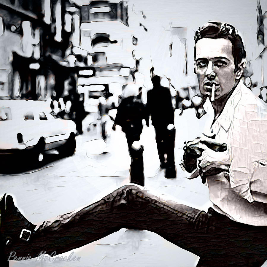 Joe Strummer by Pennie McCracken