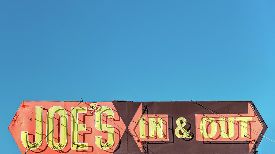 Diner Photograph - Joes In And Out by Todd Klassy