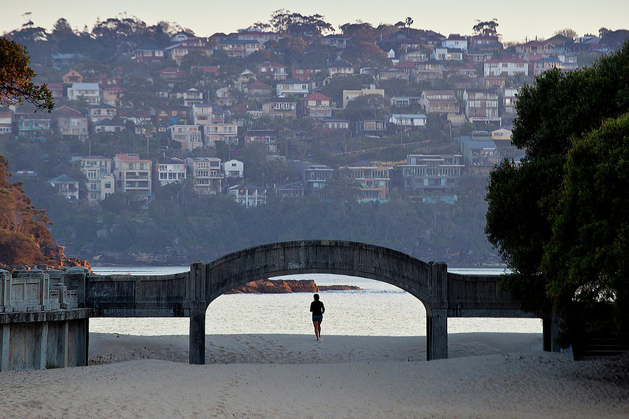 Jogging On Balmoral Beach Photograph by Image By Erik Pronske Photography