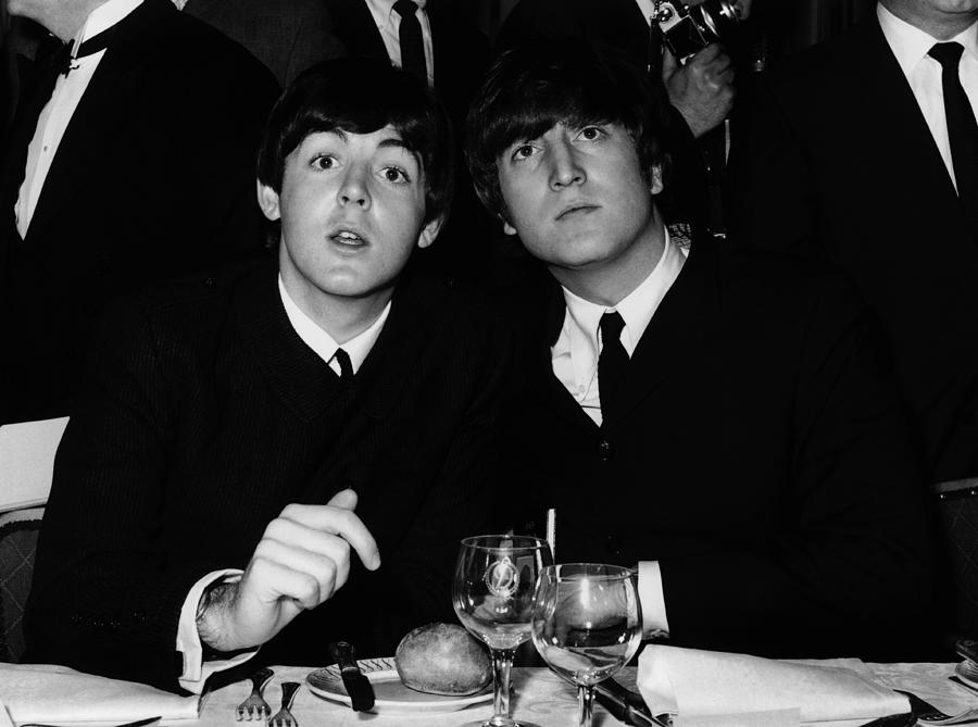 John And Paul Photograph by William Vanderson