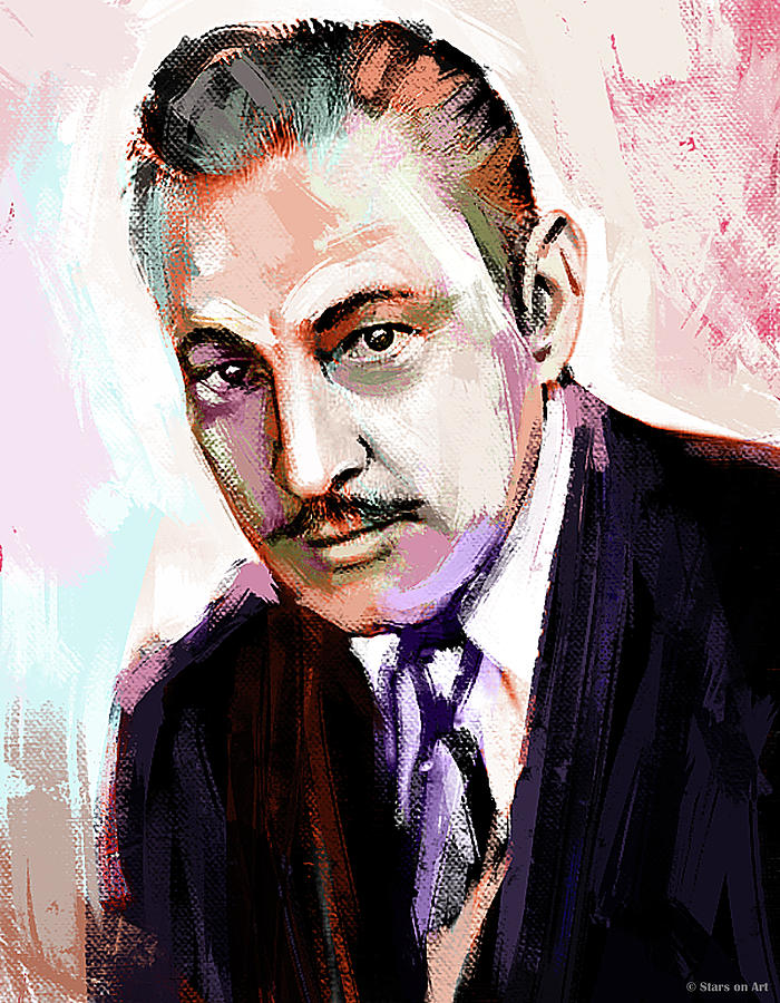 John Painting - John Barrymore Painting by Stars on Art