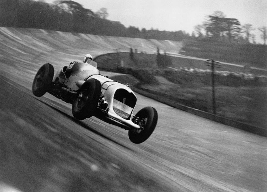 John Cobb Racing Photograph by Topical Press Agency