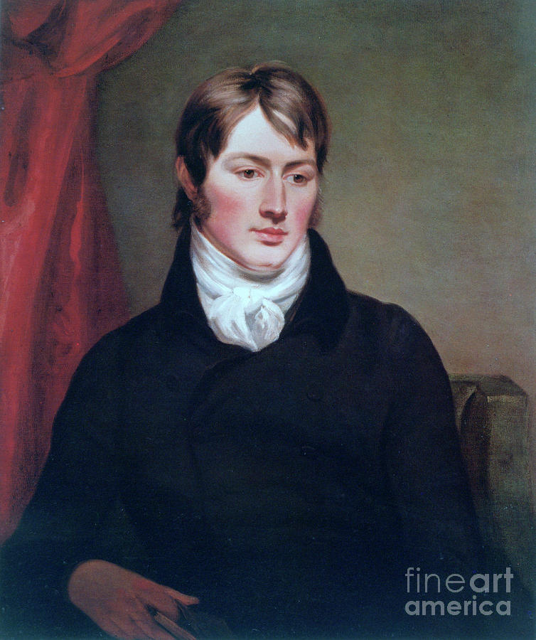 John Constable, C1799. Artist Ramsay Drawing by Print Collector