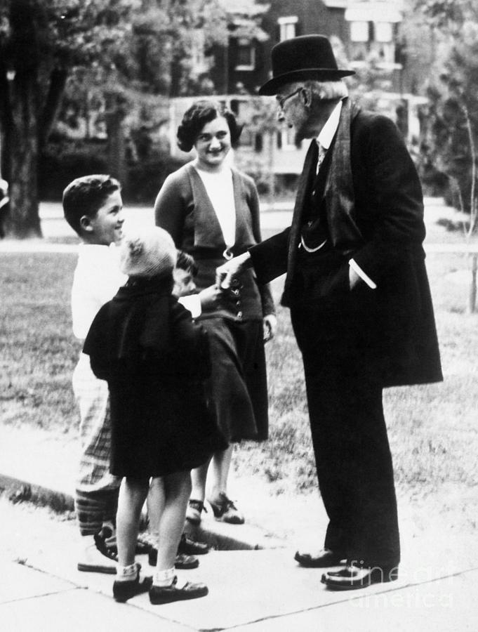 John D. Rockefeller Sr Photograph by Bettmann