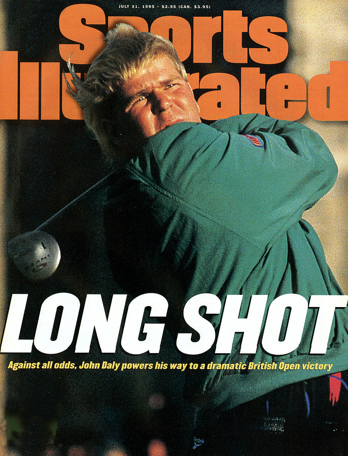 John Daly, 1995 British Open - Final Round Sports Illustrated Cover Photograph by Sports Illustrated
