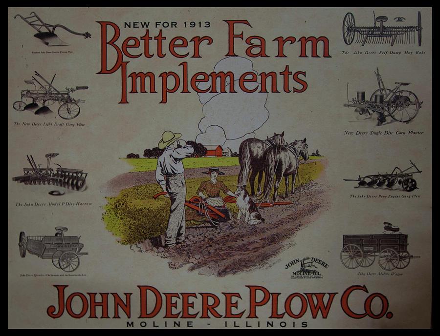 John Deere Advertising by Chris Flees