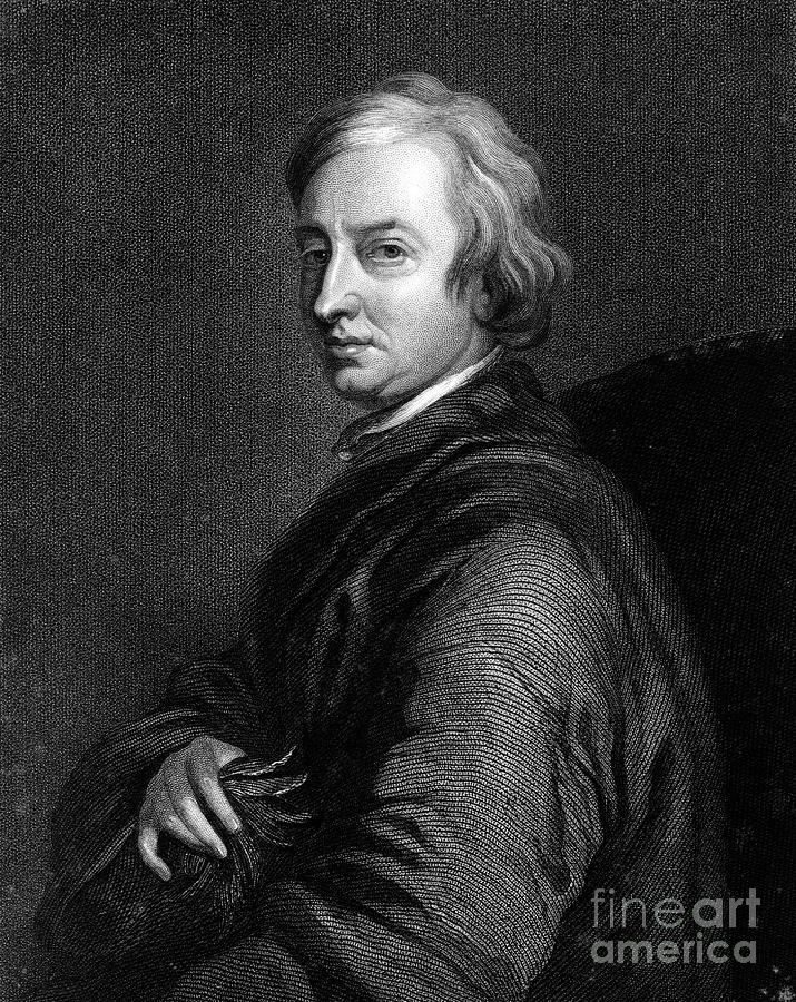 John Dryden, 17th Century English Poet Drawing by Print Collector