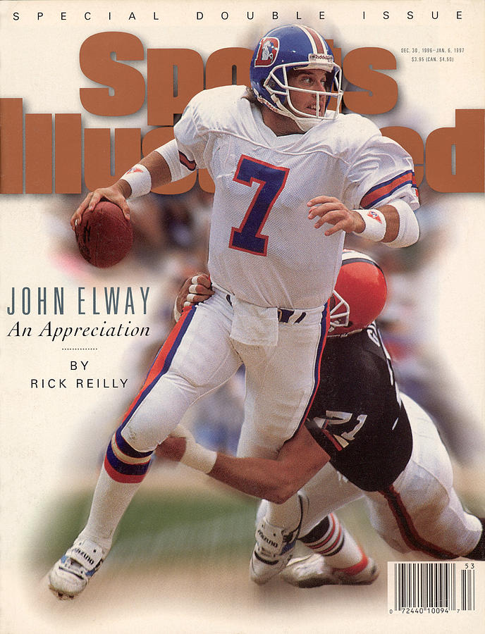 John Elway An Appreciation Sports Illustrated Cover Photograph by Sports Illustrated