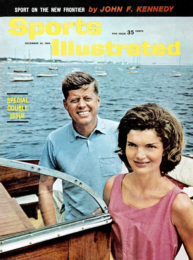 John F. Kennedy And Jackie Kennedy Sports Illustrated Cover Photograph by Sports Illustrated