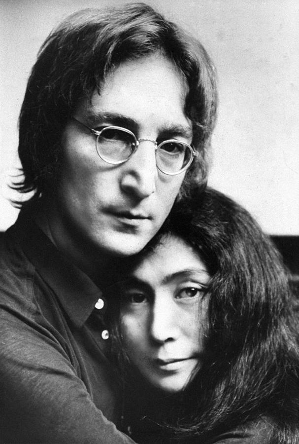 John Lennon And Yoko Ono Photograph By New York Daily News Archive