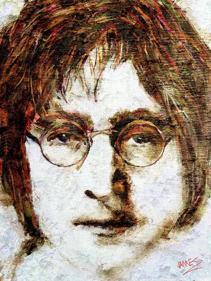 John Lennon by James Shepherd