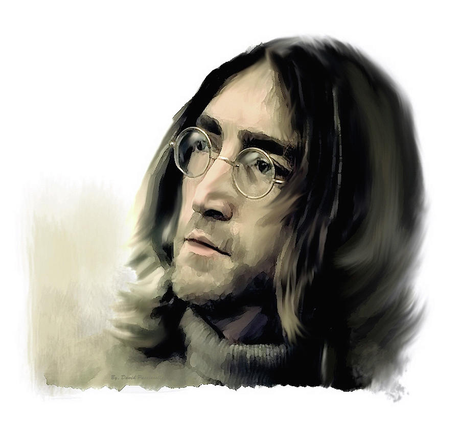 John Lennon REFLECTIONS  by Iconic Images Art Gallery David Pucciarelli