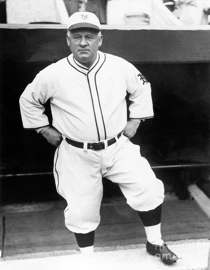 John Little Napoleon Mcgraw Photograph by National Baseball Hall Of Fame Library